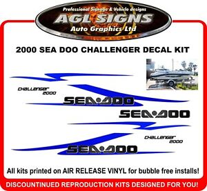 2001 Challenger Sea-Doo Jet Boat Complete Traction Mat Kit 2000-2006 Sportster//LE//LT//LE DI