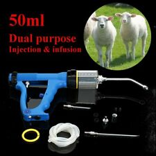 Continuous Drench Gun 50ml For Animal Cattle Sheep Goats Oral Injection