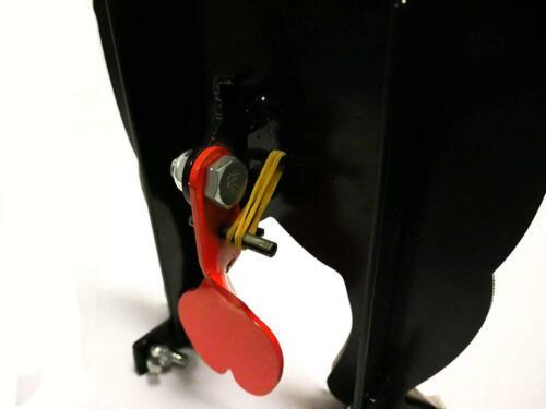 Novelty Bear Bottom Nut Cracker Shooting Target Air Rifle Airgun Auto Reset