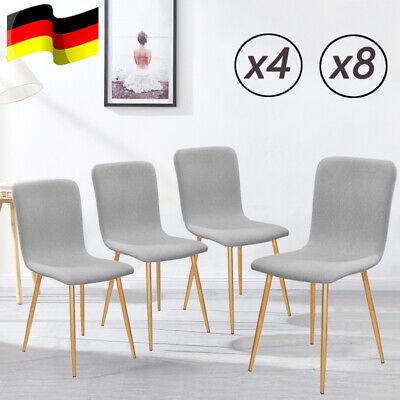 4er 8er Set Esszimmerstühle Retro Küchen Stuhl Design