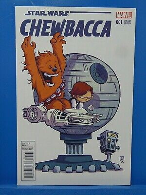 Star Wars Chewbacca #1 Skottie Young Variant Edition Marvel Comics HP1586
