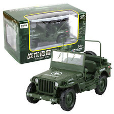 KDW 1/18 Scale Diecast Military Army Tactical Jeep Vehicle Model Toys