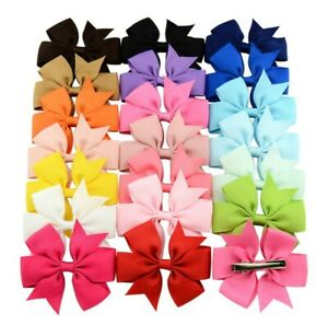 20PCs-Set-Baby-Girl-Toddler-Child-Kid-Hair-Bow-Clips-Hair-Accessory-Bulk