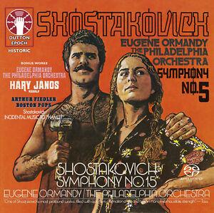 Eugene Ormandy • Shostakovich Symphonies NOS. 5 & 15 [SACD Hybrid Multi-channel]