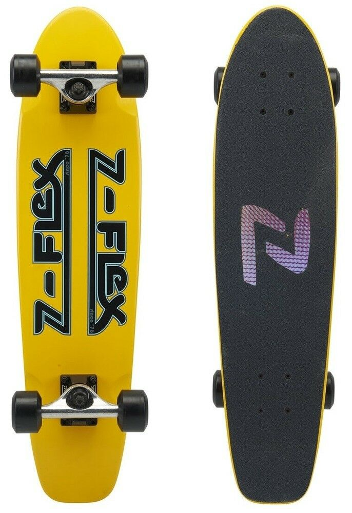 Z-Flex Z-Flex Z-Flex Complete Cruiser Skateboard Z-Bar giallo 29