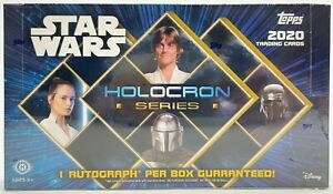Star Wars Holocron Series Hobby Box Sealed Topps 2020