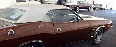 70 71 72 73 74 Plymouth Cuda 73 74 Dodge Challenger White Vinyl Top Mopar Ebay