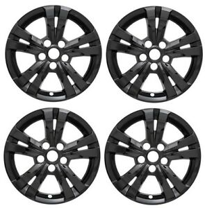 2010 2016 chevy equinox 17 black wheel skins hubcaps covers alloy GMC Terrain Recalls image is loading 2010 2016 chevy equinox 17 034 black wheel