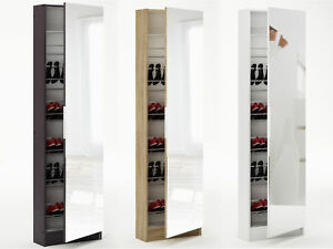 Brilliant 6Ft Mirrored Shoe Cabinet Storage 180Cm 6 Tier Full Mirror Download Free Architecture Designs Grimeyleaguecom