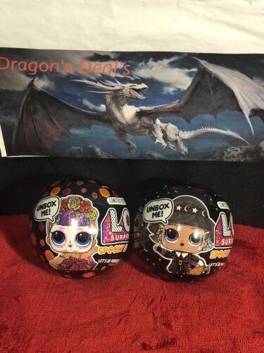 New Lol Surprise Halloween Spooky Sparkle Witchay Babay /& Bebe Bonita ShipToday