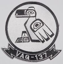"""US Navy Aufnäher Patch VAQ-137 Electronic Attack Squadron 137 """"Rooks"""" .....A2494"""
