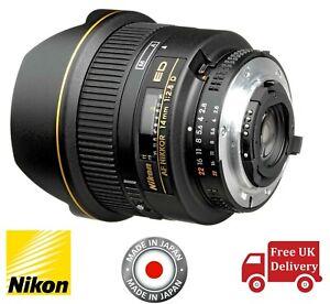 Nikon Af Nikkor 14mm F2 8d Ed Lens Uk 18208019250 Ebay