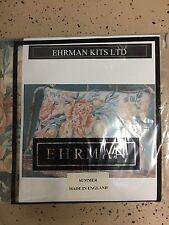 NEW EHRMAN Needlepoint Kit  Flowers-Summer