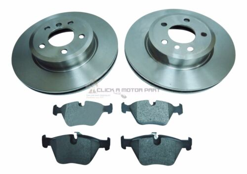 BMW X3 2.0 2.5 3.0 E83 2004-2011 MINTEX FRONT 2 BRAKE DISCS AND PADS SET NEW