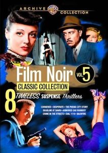 Film-Noir-Classic-Collection-Volume-Five-New-DVD-Manufactured-On-Demand-Fu