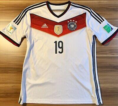 Original Adidas DFB WM 2014 Trikot mit Götze Flock und
