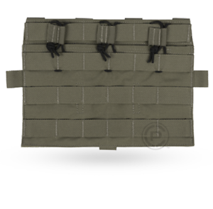 Crye Precision AVS Detachable Flap Flat Mag Pouch - Ranger Green - Holds 3 Mags