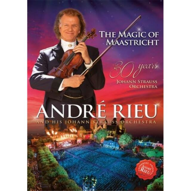 Andre Rieu Magic of Maastricht 30 Years DVD All Regions NTSC NEW
