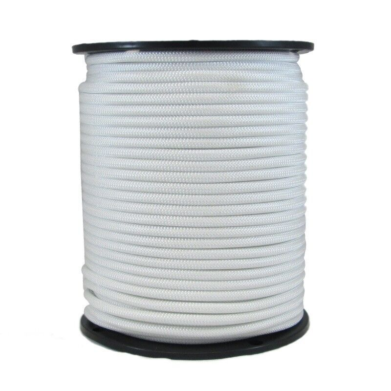 3 8  250 ft Dacron Polyester Rope White