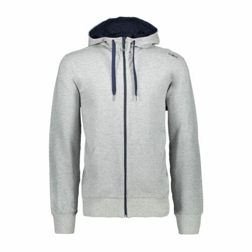 CMP Sweatjacke veste on Fix Hood Jacket gris élastique chiné