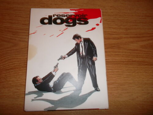 1 of 1 - RESERVOIR DOGS DVD, Cert 18 in fold out cardboard case, 2 discs, excellent cond