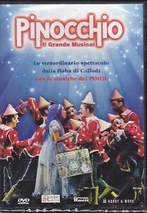 Dvd-Libretto-POOH-PINOCCHIO-IL-GRANDE-MUSICAL-Manuel-Frattini-Rancia-new