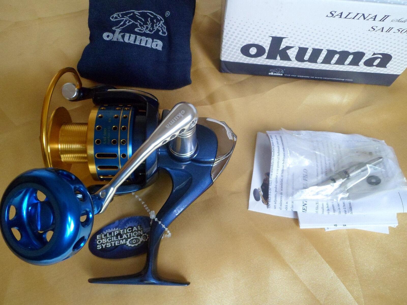 Okuma SALINA II 5000 Saltwater Spinning Reel  23kg drag