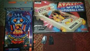 TOMY-Atomic-Flipper-jeux-d-039-arcade-vintage-jouet-de-travail-libre-p-amp-p
