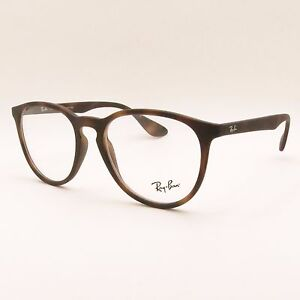 87f0ba9aad Details about Ray Ban RB 7046 5364 Matte Black Rubber RX Frame New  Authentic Buyer Picks Size