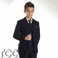 Boys Navy Suit, Boys wedding Suits, Page Boy Suits, Prom Suit, Age 1-16 years