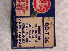 Lot Of 6 Vintage UTC DO-T 36 Interstage Audio Transformers