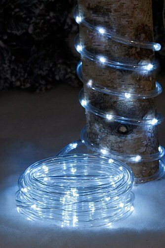 Ice White LED Rope Light Outdoor Indoor Christmas Lights Xmas Multi-Function NEW