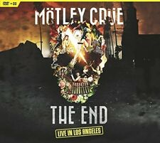 The End: Live in Los Angeles [CD/DVD] [Digipak] by Mötley Crüe (DVD, Nov-2016, 2 Discs, Eagle Rock)