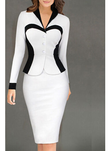 Woman Professional Midi Dress, Delivery In About 18 Days.