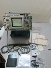 Vintage Tektronix 466 Dual Trace Storage Oscilloscope With Dm44 Digital Multimeter