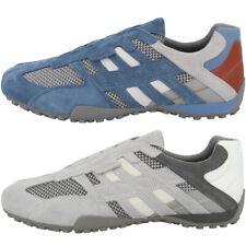 GEOX U Snake J Schuhe Herren Sneaker Halbschuhe dark grey U4207J02214C0358