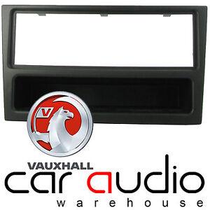 VAUXHALL VECTRA VIVARO CD STEREO FASCIA FACIA PANEL SURROUND CT24VX01 BLACK
