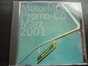 Various-MOTORE-Music-CD-marzo-2001-Denyo-77-Sting-Nina-MC-City-Nord