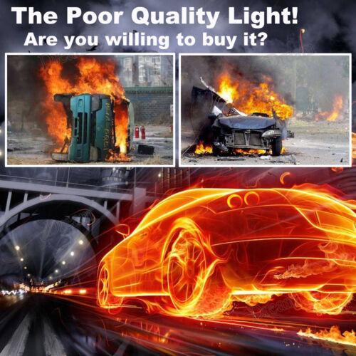 Combo H13 5202 LED Headlight Kit for GMC Yukon Denali XL High Low Beam Foglight