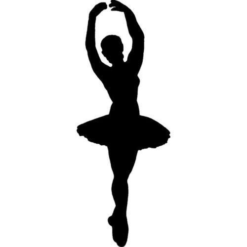 Unmontiert /'Ballerina-Silhouette/' Stempel RS016335