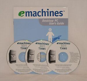 EMACHINE T3085 DRIVERS FOR PC
