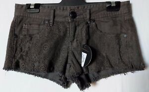 WOMEN-039-S-SHORTS-ELEMENT-MINI-LACE-STRETCH-SIZE-8-26-034-NEW-WITH-TAGS-FREE-POSTAGE