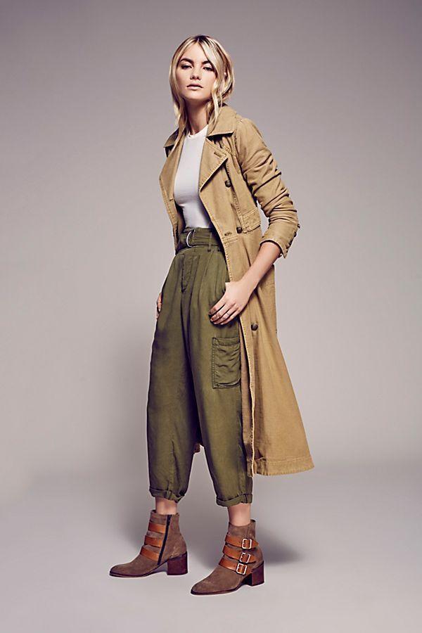 Free People Womens Full Sweep Linen-Blend Coat, Xs, Beige