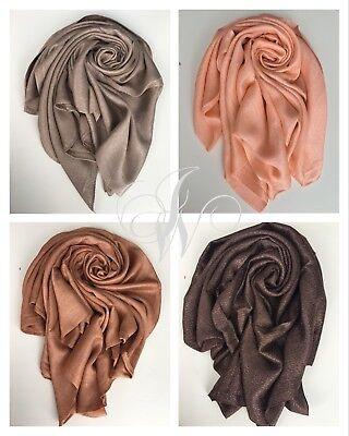 AnpassungsfäHig Scarf Shimmering High Quality Hijab Maxi Soft Shawl Wrap Sparkly Wedding Summer Lange Lebensdauer