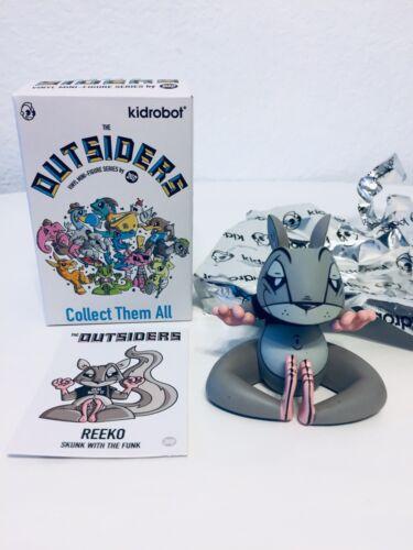 """Kidrobot The Outsiders Series """"Reeko"""" by Joe Ledbetter 2017"""