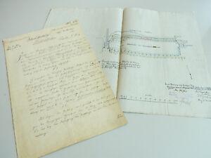 Kleinbahn Breslau-trebnitz-prausnitz 1907 Pachtvertrag GrÖschelschleuse // Plan Blut NäHren Und Geist Einstellen Ehemalige Deutsche Gebiete