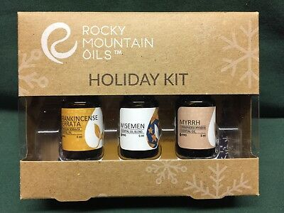 Rocky Mountain Oils Sacred Night Holiday Kit Frankincense Wisemen Myrrh