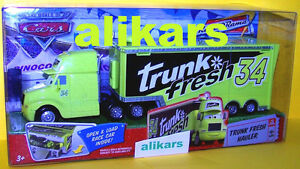 Hauler - TRUNK FRESH Truck #9 Disney Cars Racing Team 34 Camion Transporter auto