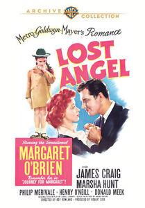 Lost-Angel-DVD-1943-Margaret-o-039-Brien-James-Craig-Marsha-Caza-Roy-Rowland