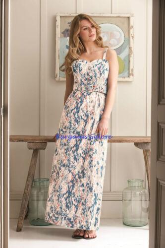Ladies Maxi Dress Bravissimo PEPPERBERRY  Vintage Party Summer Size 8 10 Curvy
